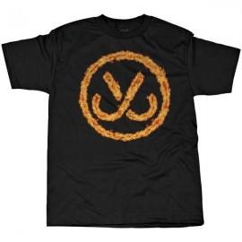Camiseta JSLV Hooks burning black