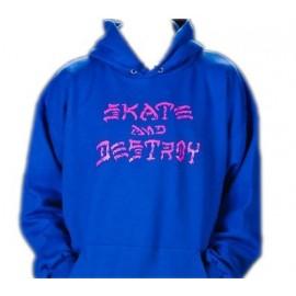 Sudadera THRASHER 'Skate and Destroy' drip
