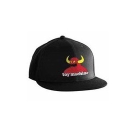 Gorra TOY MACHINE Monster scrawl pro fit L/XL negra