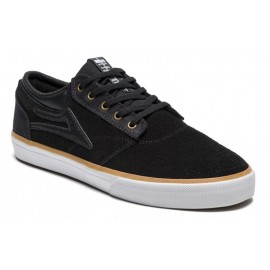 LAKAI Griffin black suede