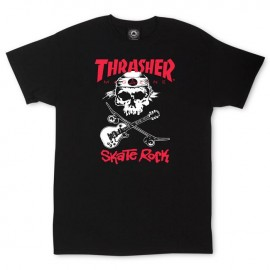 Camiseta THRASHER 'Skate Rock' black