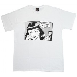 Camiseta THRASHER 'Boyfriend' white