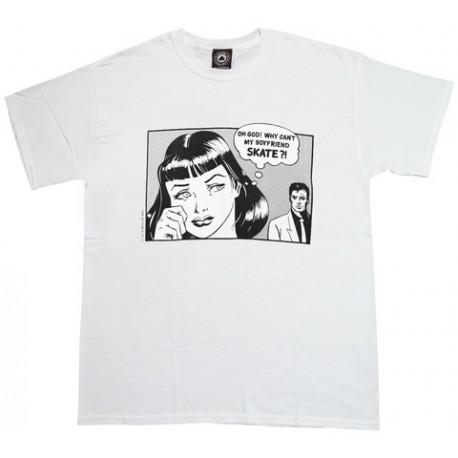 Camiseta THRASHER 'Boyfriend' white