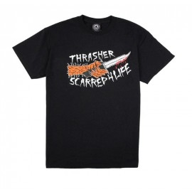 Camiseta THRASHER NeckFace Scarred