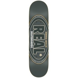"Tabla REAL 'Oval Remix' 8.25"" dark grey"