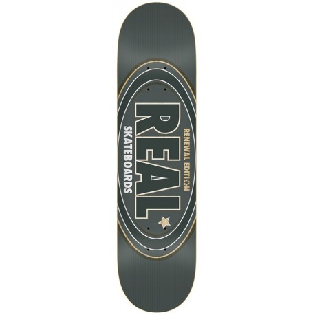 "Tabla REAL 'Oval Remix' 8.25"" grey"
