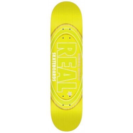 "Tabla REAL 'Oval Remix' 8.5"" yellow"