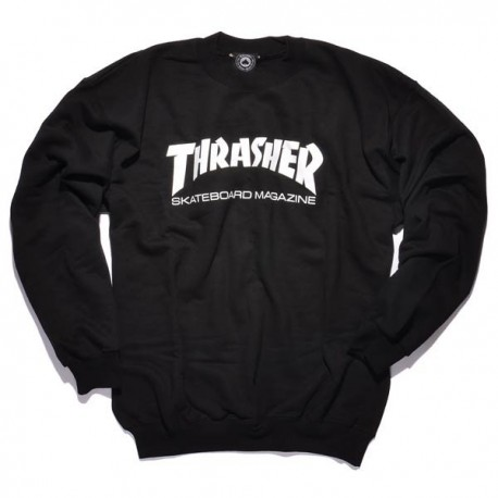 Sudadera THRASHER 'Crew' black